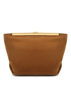 Женская сумка augusta KHAITE коричневого цвета, арт. H3002-710/AUGUSTA | Фото 1 (Сумки-технические: Сумки через плечо; Ремень/цепочка: На ремешке; Материал: Натуральная кожа; Размер: medium)