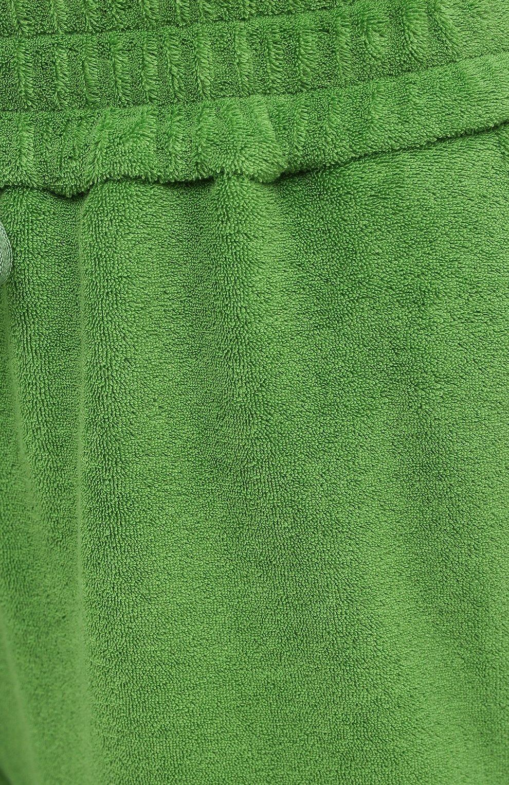 Женские хлопковые брюки TOM FORD салатового цвета, арт. PAJ071-FAX830 | Фото 5
