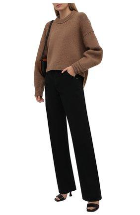 Женские джинсы HERON PRESTON FOR CALVIN KLEIN черного цвета, арт. K10K108242   Фото 2