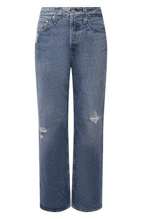 Женские джинсы AG синего цвета, арт. LGN1A98/INLA/USA | Фото 1