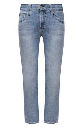 Женские джинсы AG голубого цвета, арт. DAS1575/21YCYP/MX | Фото 1