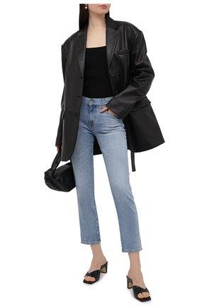 Женские джинсы AG голубого цвета, арт. DAS1575/21YCYP/MX | Фото 2