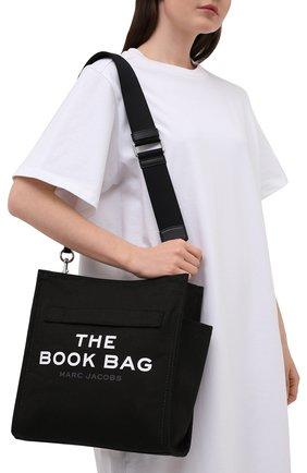Женский сумка-тоут MARC JACOBS (THE) черного цвета, арт. M0017047   Фото 2