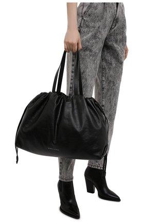 Женский сумка-шопер BRUNELLO CUCINELLI черного цвета, арт. MB00D2311P   Фото 2