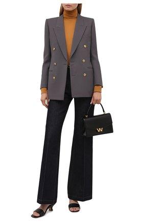 Женская кашемировая водолазка LORO PIANA желтого цвета, арт. FAC4672   Фото 2 (Материал внешний: Шерсть, Кашемир; Длина (для топов): Стандартные; Рукава: Длинные; Стили: Кэжуэл; Женское Кросс-КТ: Водолазка-одежда)