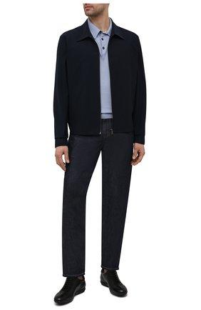 Мужские кожаные кроссовки MORESCHI черного цвета, арт. 90042323S0001/P0RT0 | Фото 2