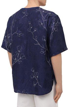 Мужская футболка GIORGIO ARMANI темно-синего цвета, арт. 1SGCCZ59/TZ925   Фото 4