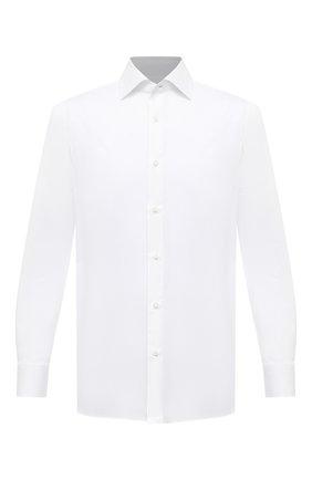 Мужская хлопковая сорочка LUIGI BORRELLI белого цвета, арт. EV08/LUCIAN0/S10715 | Фото 1