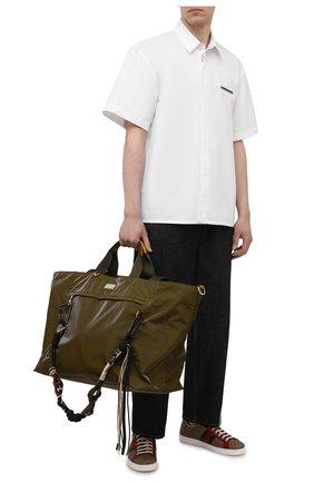 Мужская дорожная сумка nero sicilia dna DOLCE & GABBANA хаки цвета, арт. BM1958/A0244 | Фото 2
