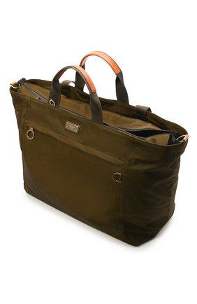 Мужская дорожная сумка nero sicilia dna DOLCE & GABBANA хаки цвета, арт. BM1958/A0244 | Фото 4