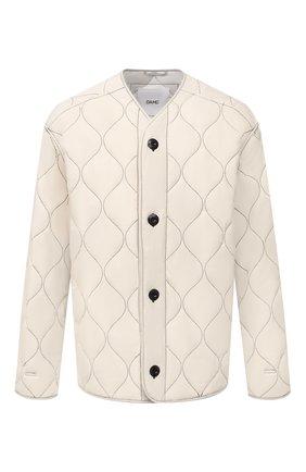 Мужская утепленная куртка OAMC белого цвета, арт. 0AMS422232 0S24300T | Фото 1