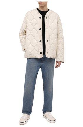 Мужская утепленная куртка OAMC белого цвета, арт. 0AMS422232 0S24300T | Фото 2