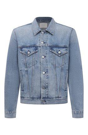 Мужская джинсовая куртка CITIZENS OF HUMANITY голубого цвета, арт. M530B-1254 | Фото 1