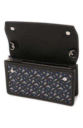 Мужская сумка BURBERRY темно-синего цвета, арт. 8040284 | Фото 4