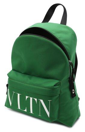 Мужской текстильный рюкзак VALENTINO зеленого цвета, арт. WY2B0993/YHS   Фото 4