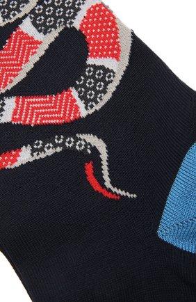 Мужские хлопковые носки STORY LORIS темно-синего цвета, арт. 5231 | Фото 2 (Кросс-КТ: бельё; Материал внешний: Хлопок)