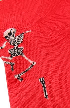 Мужские хлопковые носки STORY LORIS красного цвета, арт. 5483 | Фото 2 (Материал внешний: Хлопок; Кросс-КТ: бельё)