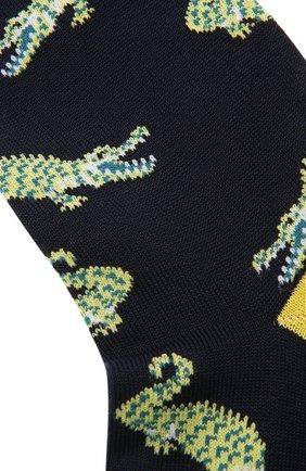 Мужские хлопковые носки STORY LORIS темно-синего цвета, арт. 5501 | Фото 2 (Материал внешний: Хлопок; Кросс-КТ: бельё)