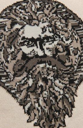 Мужские хлопковые носки STORY LORIS бежевого цвета, арт. 5539 | Фото 2 (Кросс-КТ: бельё; Материал внешний: Хлопок)