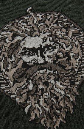 Мужские хлопковые носки STORY LORIS темно-серого цвета, арт. 5539 | Фото 2 (Материал внешний: Хлопок; Кросс-КТ: бельё)