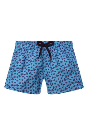 Детские плавки-шорты VILEBREQUIN синего цвета, арт. JIMU0B39/380 | Фото 1