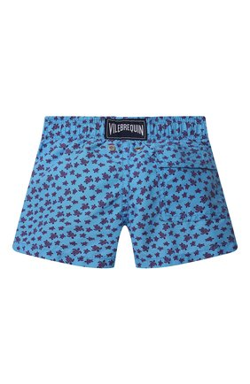 Детские плавки-шорты VILEBREQUIN синего цвета, арт. JIMU0B39/380 | Фото 2