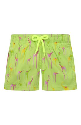 Детские плавки-шорты VILEBREQUIN светло-зеленого цвета, арт. JIIH0F04/417 | Фото 1