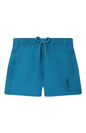 Детские плавки-шорты VILEBREQUIN синего цвета, арт. JIME9D02/312 | Фото 1