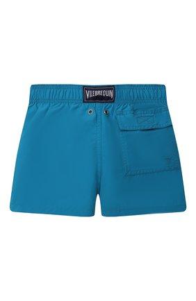 Детские плавки-шорты VILEBREQUIN синего цвета, арт. JIME9D02/312 | Фото 2