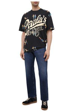 Мужская хлопковая футболка loewe x paula's ibiza LOEWE черного цвета, арт. H616Y22X17 | Фото 2