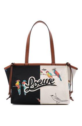 Женский сумка-тоут cushion small loewe x paula's ibiza LOEWE разноцветного цвета, арт. A612A93X19 | Фото 1 (Материал: Текстиль; Размер: small; Сумки-технические: Сумки-шопперы)