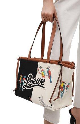 Женский сумка-тоут cushion small loewe x paula's ibiza LOEWE разноцветного цвета, арт. A612A93X19 | Фото 2 (Материал: Текстиль; Размер: small; Сумки-технические: Сумки-шопперы)