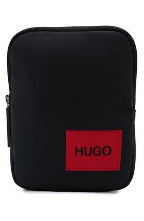 Мужская сумка HUGO темно-синего цвета, арт. 50455563 | Фото 1