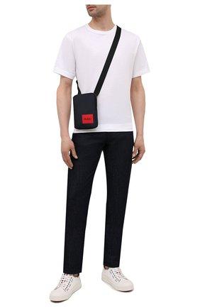 Мужская сумка HUGO темно-синего цвета, арт. 50455563 | Фото 2