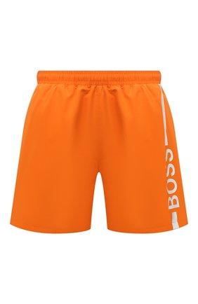 Мужские плавки-шорты BOSS оранжевого цвета, арт. 50437375 | Фото 1