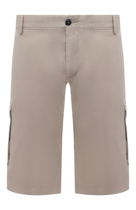 Мужские хлопковые шорты PAUL&SHARK бежевого цвета, арт. 21414003/E7A/62-64 | Фото 1
