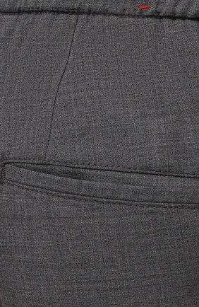 Мужские кашемировые брюки MARCO PESCAROLO серого цвета, арт. CHIAIAM/4334 | Фото 5 (Big sizes: Big Sizes; Материал внешний: Шерсть, Кашемир; Длина (брюки, джинсы): Стандартные; Случай: Повседневный; Стили: Кэжуэл)