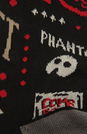 Мужские хлопковые носки STORY LORIS черного цвета, арт. 5137 | Фото 2 (Кросс-КТ: бельё; Материал внешний: Хлопок)