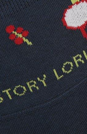 Мужские хлопковые подследники STORY LORIS темно-синего цвета, арт. 5373 | Фото 2 (Материал внешний: Хлопок; Кросс-КТ: бельё)