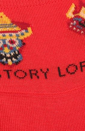 Мужские хлопковые подследники STORY LORIS красного цвета, арт. 5411 | Фото 2 (Кросс-КТ: бельё; Материал внешний: Хлопок)