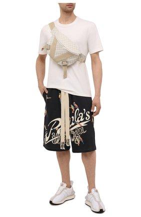 Мужские хлопковые шорты loewe x paula's ibiza LOEWE черного цвета, арт. H616Y27X01   Фото 2