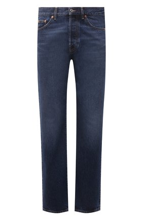 Мужские джинсы VALENTINO темно-синего цвета, арт. WV3DE01T7LE | Фото 1