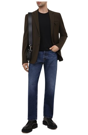 Мужские джинсы VALENTINO темно-синего цвета, арт. WV3DE01T7LE | Фото 2
