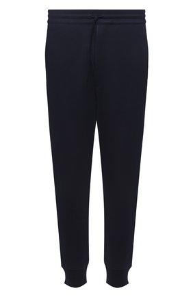 Мужские хлопковые джоггеры Y-3 темно-синего цвета, арт. GV4204/M | Фото 1 (Силуэт М (брюки): Джоггеры; Стили: Спорт-шик; Кросс-КТ: Спорт; Материал внешний: Хлопок; Мужское Кросс-КТ: Брюки-трикотаж; Длина (брюки, джинсы): Укороченные)