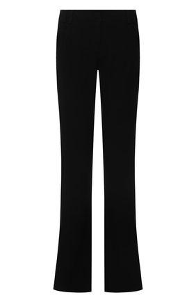 Женские брюки из вискозы BALMAIN черного цвета, арт. VF0PP030/VA00 | Фото 1