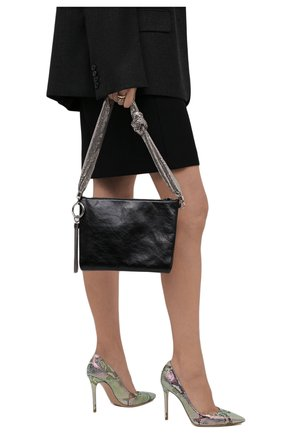 Женские кожаные туфли gianvito 105 GIANVITO ROSSI разноцветного цвета, арт. G28470.15RIC.KA0H0L0 | Фото 2
