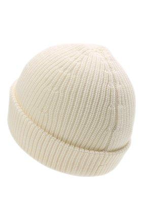 Женская шерстяная шапка VETEMENTS кремвого цвета, арт. UA52KN300W 2901/W | Фото 2