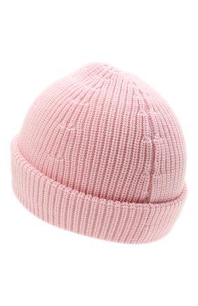 Женская шерстяная шапка VETEMENTS светло-розового цвета, арт. UA52KN300P 2901/W | Фото 2