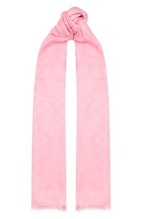 Женская палантин  VALENTINO розового цвета, арт. WW2ED007/AJB | Фото 1