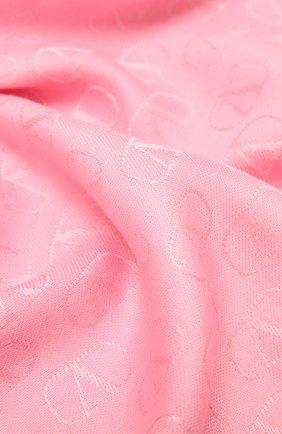 Женская палантин  VALENTINO розового цвета, арт. WW2ED007/AJB | Фото 2